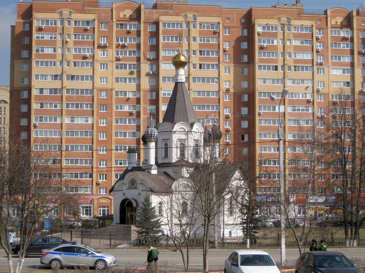 Храм Рождества Богородицы в Домодедово