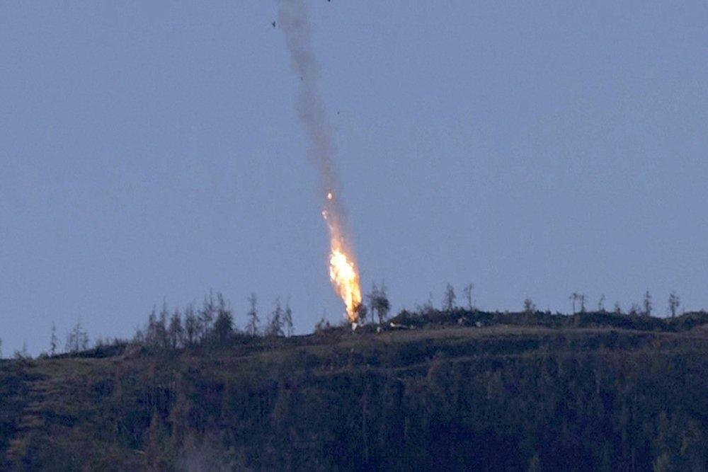 """Путин: """"Турецкий F-16 выстрелом ракеты класса """"воздух-воздух"""" сбил российский Су-24"""""""