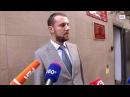 Адвокат Станислав Мальцев отвечает на вопросы журналистов по делу об изнасиловании студентки.