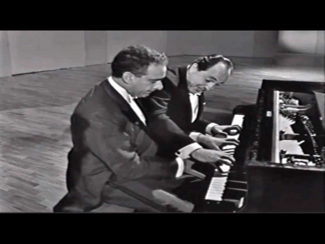 Hungarian Rapsody No. 2 - Liszt by Victor Borge and Leonid Hambro