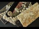 Handmade Altered Purses clutches handbags DIY Vintage   Blings   Sparkle   Shine (Wedding)