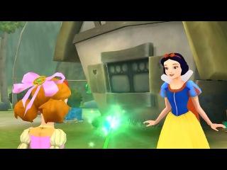 Принцессы Диснея - Зачарованный Мир часть 7 Мультик ИГРА для детей Принцессы Диснея. Мультики Диснея