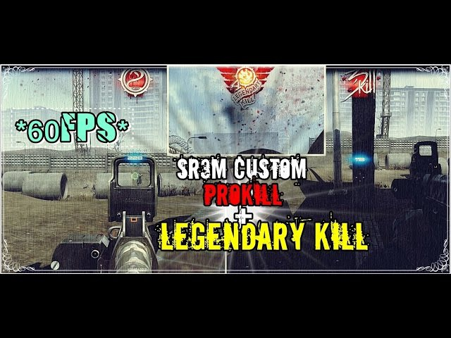 Contract Wars - SR3M Custom LegendaryKill 60FPS