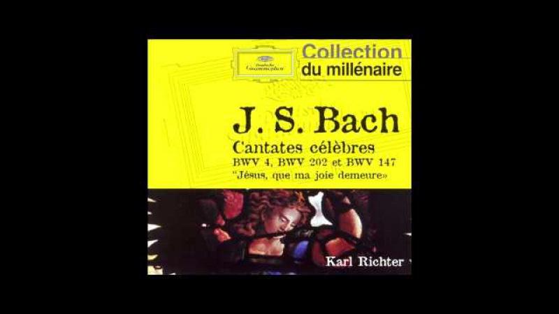 J.S.Bach Cantata BWV 147 10. Choral Jesus bleibet meine Freude Richter