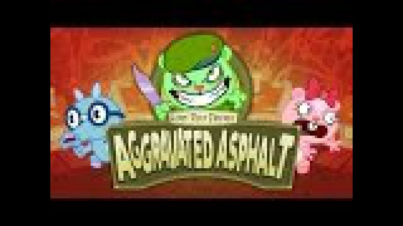 Happy Tree Friends Aggravated Asphalt Gameplay