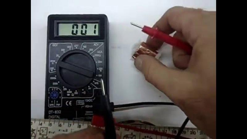 магнит - батарейка