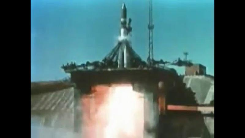 Первый полёт человека в космос 12 Апреля 1961 года.