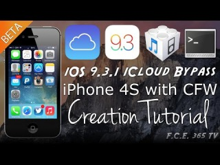 iOS 9.3.1 - iPhone 4S CFW Creation - New Discovery - New Setup.App Patch