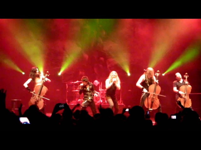 Apocalyptica Bring Them To Light feat. DIR EN GREY Kyo at Club Nokia 08SEP2010