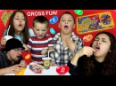 BEAN BOOZLED CHALLENGE! HILARIOUSLY GROSS JELLY BEANS GAME w/ Skylander Boy and Girl Family!