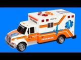 Akıllı Arabalar - Ambulans, Polis Arabası, Kamyon, Yarış Arabaları - Çocuklar için eğlenceli film
