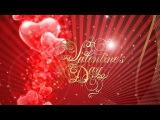 Анимация Открытки к Дню святого Валентина - Animation Cards for Valentine's Day