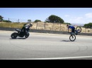 Aaron Colton and Danny MacAskill at Laguna Seca Corkscrew 2016