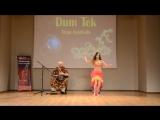 Gabriela Kameneckaja Performing with Dmitry Evsikov 2