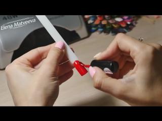 Дизайн ногтей Битое стекло_ три способа