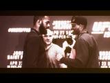 Jon Jones vs.Ovince Saint Preux Staredown | vk.com/nice_ufc