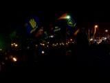 В Одессе в честь Степана Бандеры прошло факельное шествие - YouTube [720p]