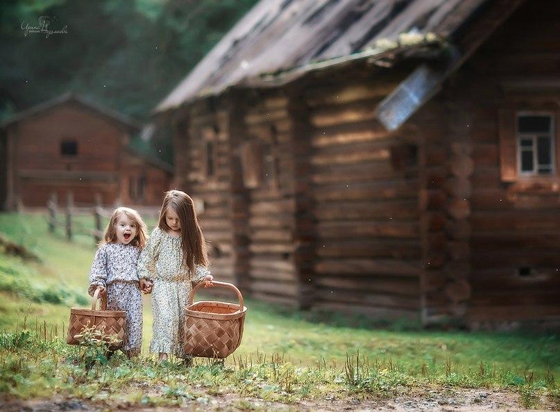 лето в деревне история