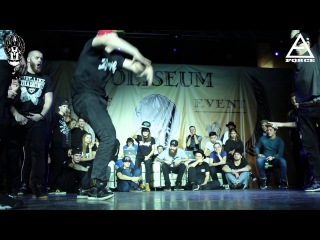COLISEUM 2015 | KRUMP 1X1 | BOY STAGEKILLA (WIN) VS YONG GROWLER VS QWEEN HATPLAYER 1/8