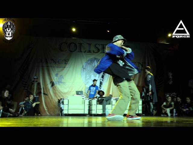 COLISEUM 2015 | HIP HOP PRO 1X1 | DAM'EN (WIN) VS DATE 1/8