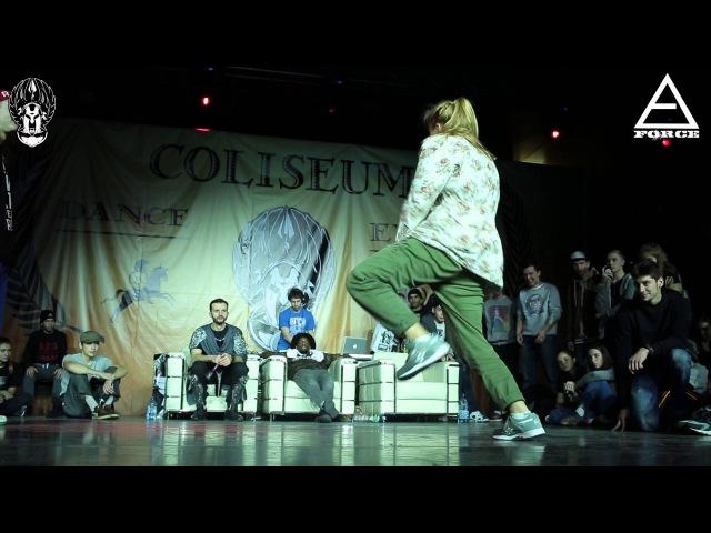 COLISEUM 2015   HIP HOP PRO 1X1   DAM'EN (WIN) VS PUNCHA FINAL