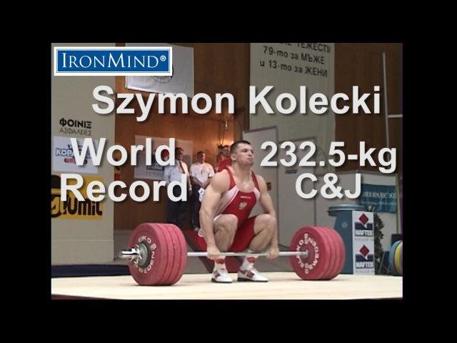 IronMind Big Lift Series: Kolecki 232.5-kg WR CJ