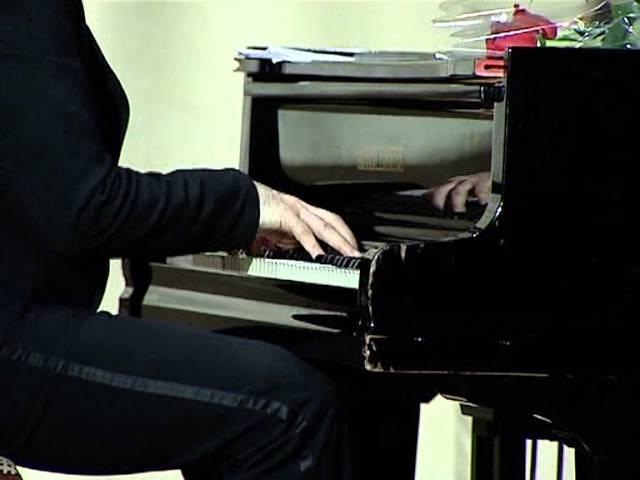 Сергей Форостяный (фортепиано) Алябьев-Лист Соловей