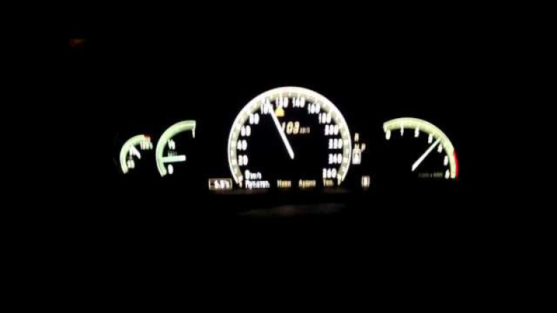 Mercedes-Benz S320cdi W221 (235hp) 0-100 acceleration