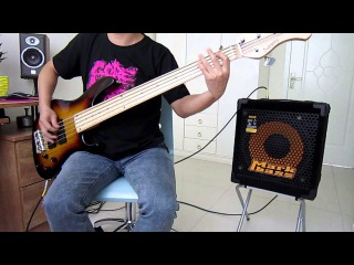 Hatebreed Destroy Everything bass cover