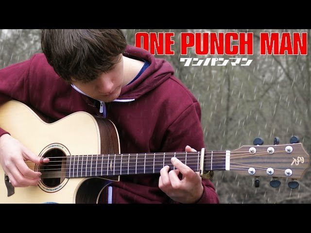 ONE PUNCH MAN OST - Sad Theme [Fingerstyle Guitar Cover by Eddie van der Meer] ワンパンマン