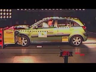 Сборник краш-тестов КИА Рио 2 2005-2011 | Crash tests KIA Rio JB 2005-2011