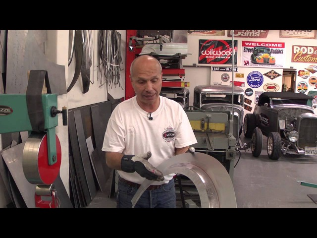Metal Shaping with Lazze Metal Fender Flare with Inner Lip Part 3 of 3