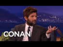 Adam Scott Got Dissed By Taylor Swift CONAN on TBS