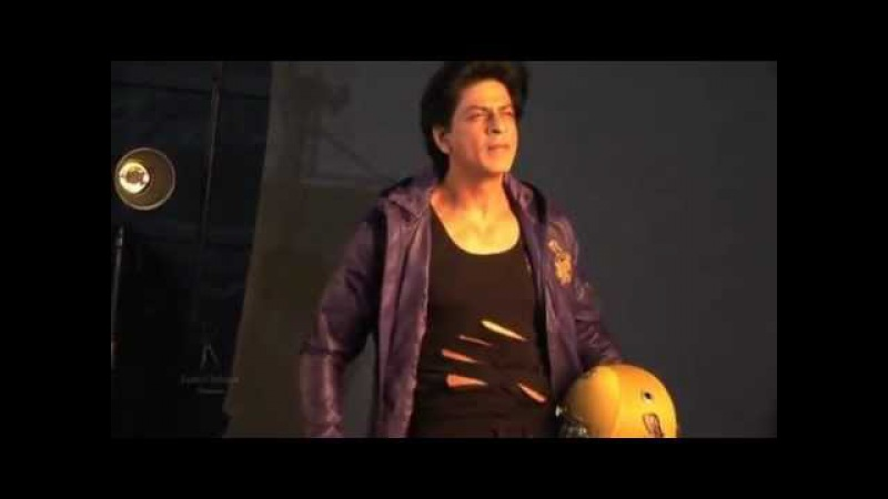Shah Rukh Khan @Iamsrk's Photoshoot For Kolkata Knight Riders.