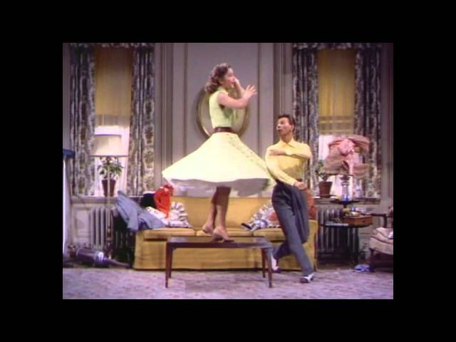 Donald O'Connor and Debbie Reynolds - Where did you learn to dance