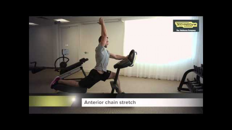 Technogym Flexability Anterior Exercises