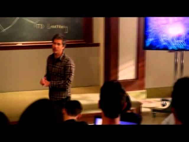 отрывок лекции из сериала