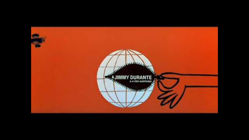 It's a Mad Mad Mad Mad World - title sequence by Saul Bass