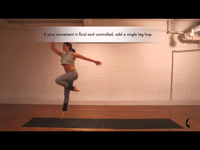 Flow Movement by Marlo Fisken: Seat Roll to Single Legged Hop (Fitness / Exercise)