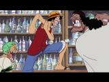 One Piece -  146: Веселые моменты - Луффи и Чёрная Борода