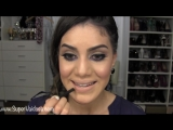 Maquiagem Nude com toque roxinho! por Camila Coelho