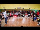 JUNIORS BATTLE за 1\2 место : Bboy Yarick vs Bboy Dushes ( two time champion )