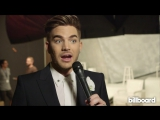 Watch Adam Lambert Talk David Bowie at Clive Davis Pre-Grammy Party We Were All Inspired By His Ideas  B1llboard
