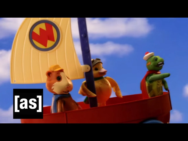 Wonder Pets Visit The Laughter House | Robot Chicken | Adult Swim
