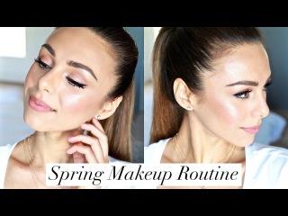 Fresh Spring Face | MY EVERYDAY MAKEUP ROUTINE | Annie Jaffrey
