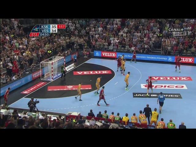 29 05 2016 Vive Tauron Kielce MKB Veszprem ostatnie sekundy ostatnie rzuty