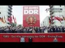 Der 40e Jahrestag der DDR - Erichs Ende (1989)