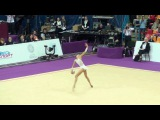 Kuznetsova Karina, Russia, ball. Grand Prix Moscow 19.02.2016