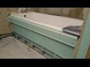 монтаж гипсокартона в ванной комнате по дизайну Gypsum board install