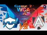 MVP Phoenix vs The Alliance #2 (bo2) (Ru) | World Cyber Arena 2015  (17.12.2015)